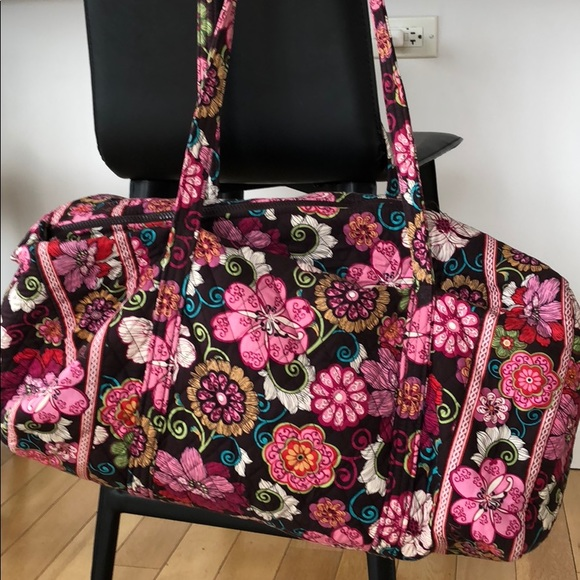 4042e1dd6af1 Handbags - Vera Bradley Large Duffel in Mod Floral Pink